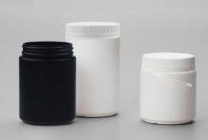 HDPE Wide Mouth Jar with Tamper Evident
