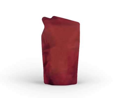 Shaped pouch